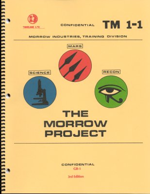 The Timeline ltd. Morrow Project Core Rules Cover